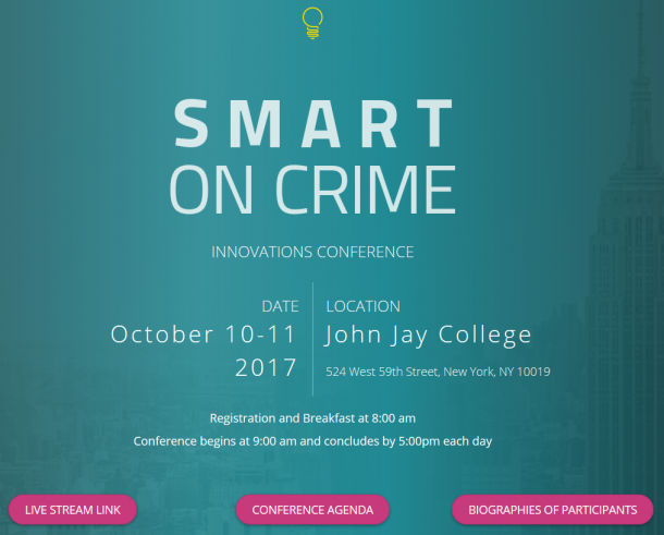 Smart on Crime Innovations Conference