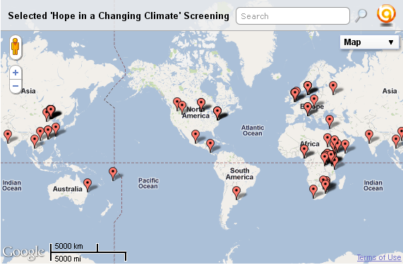 Hope in a Changing Climate screenings